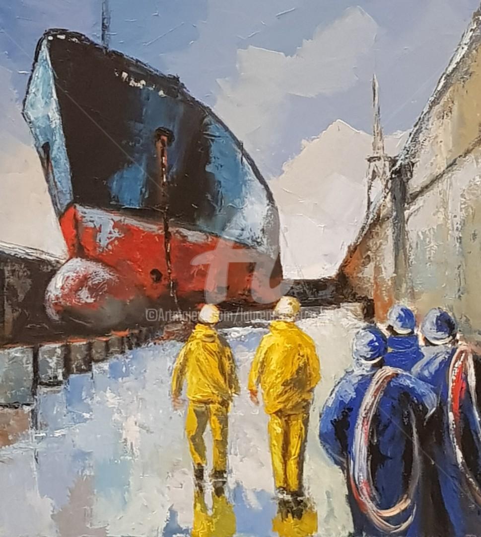 Laurence Clerembaux - Chantier naval