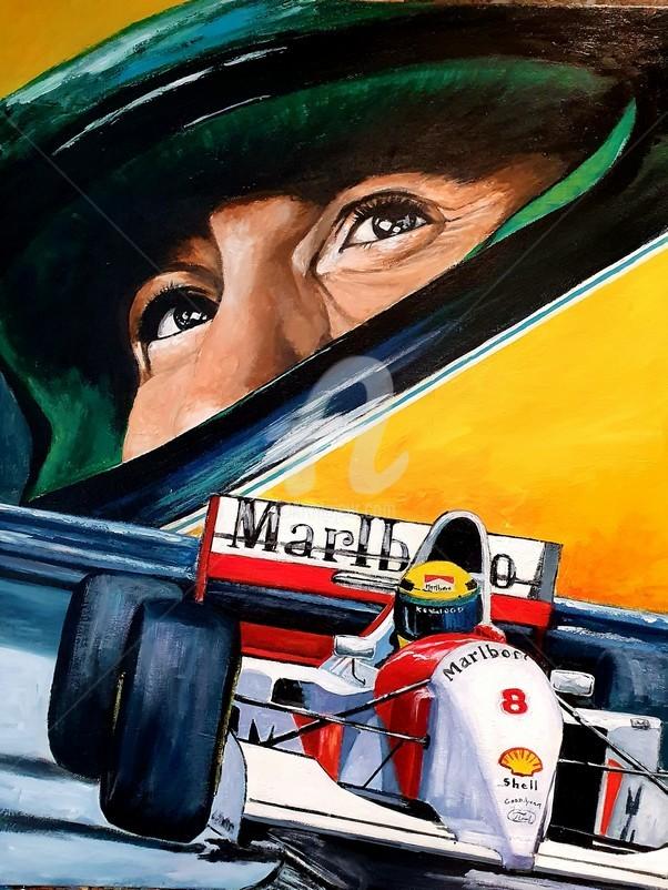 Laurence Clerembaux - Ayrton Senna