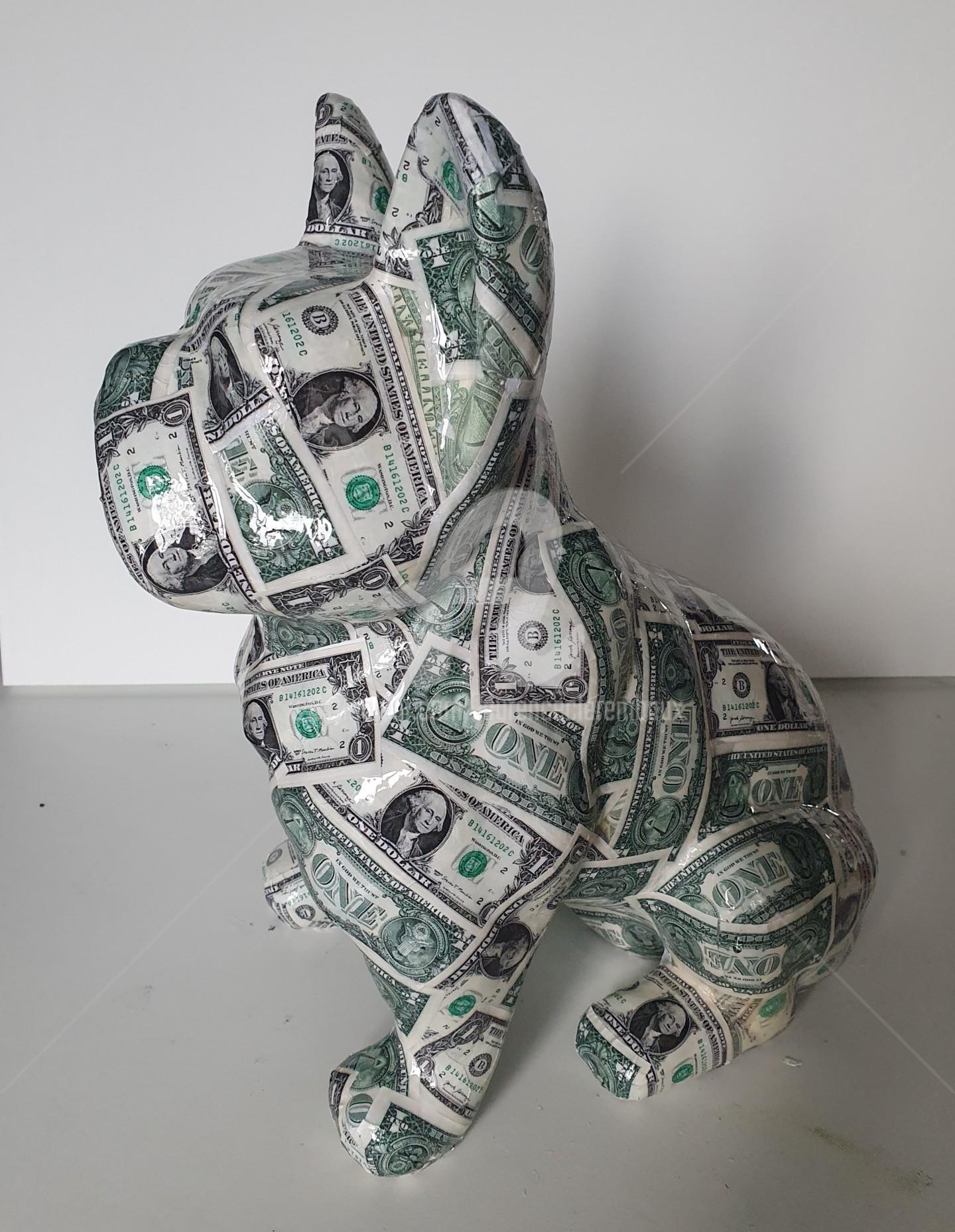 Laurence Clerembaux - Chien dollar