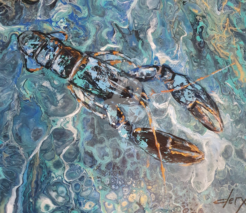 Laurence Clerembaux - Le homard