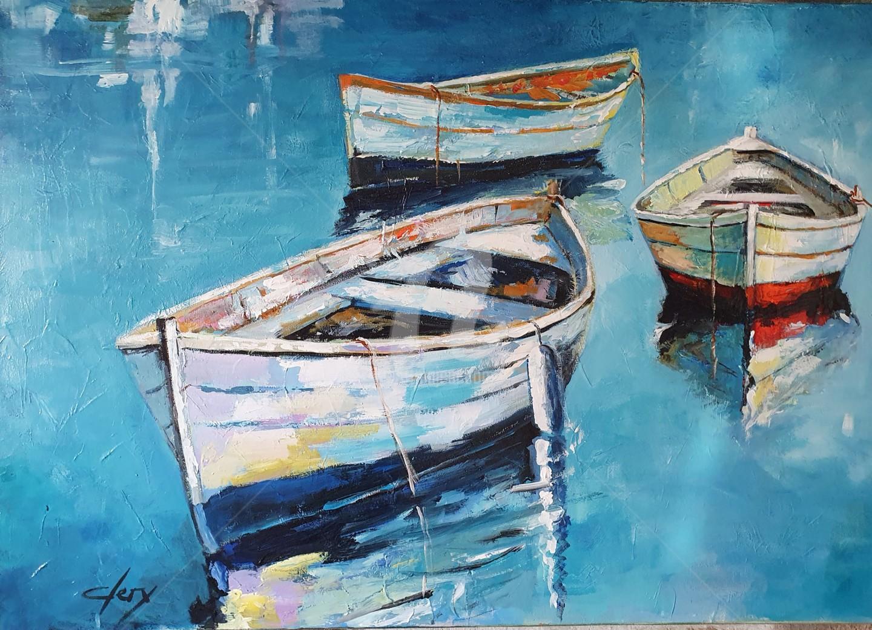 Laurence Clerembaux - Les barques