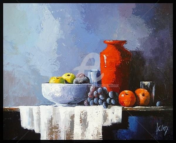 Laurence Clerembaux - le pot rouge