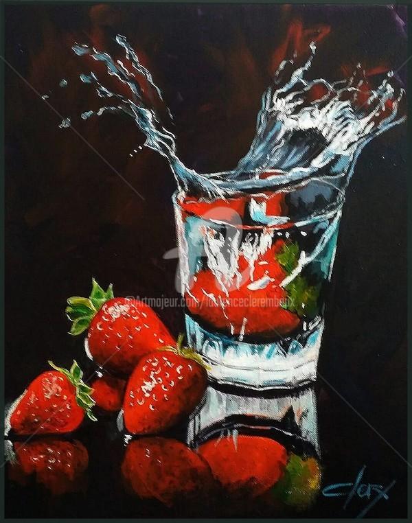 Laurence Clerembaux - les fraises