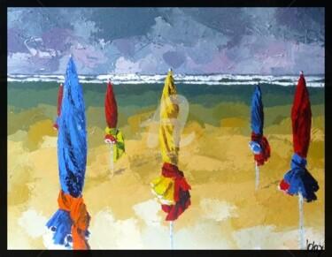 parasol a Deauville