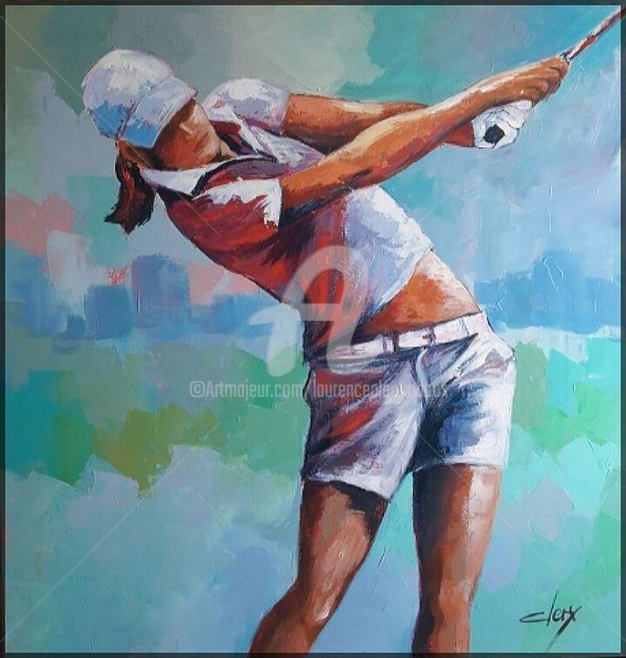 Laurence Clerembaux - la golfeuse 2