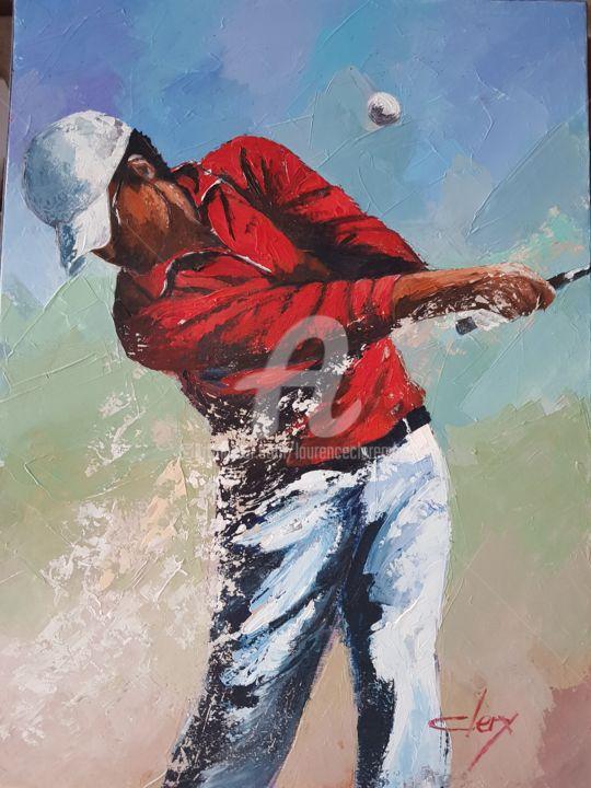 Laurence Clerembaux - Le golfeur
