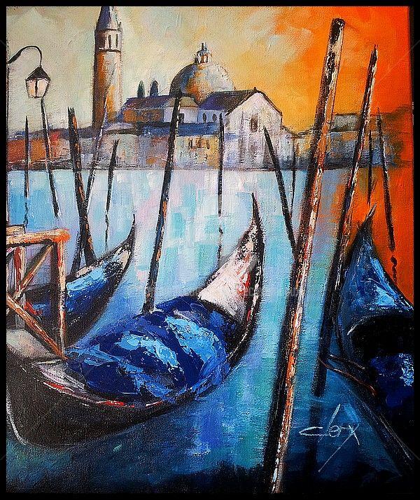 Laurence Clerembaux - les gondoles