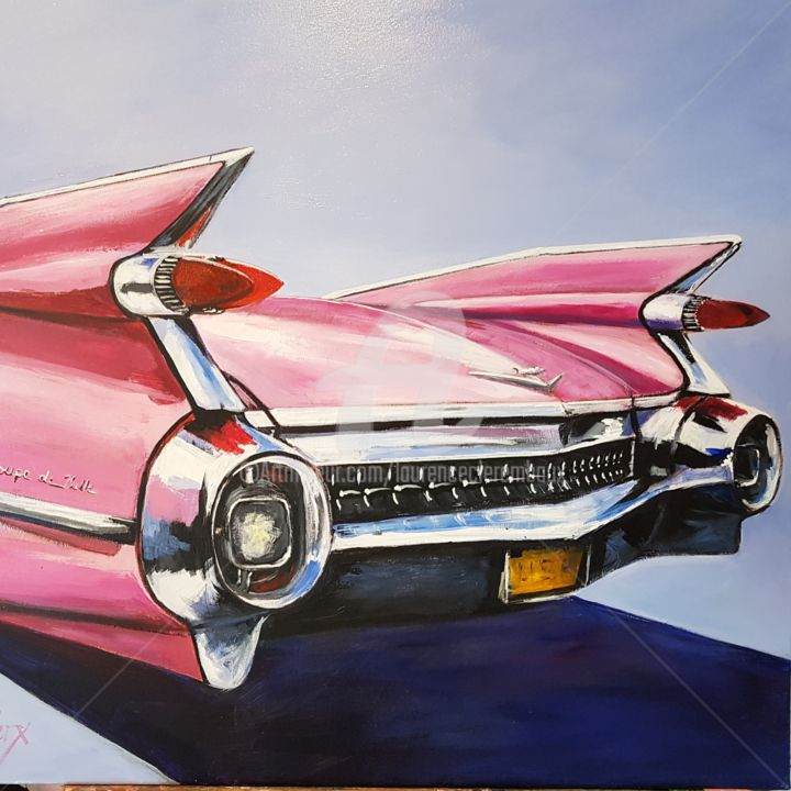 Laurence Clerembaux - Pink cadillac